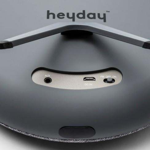 heyday™ Round Portable Bluetooth Speaker