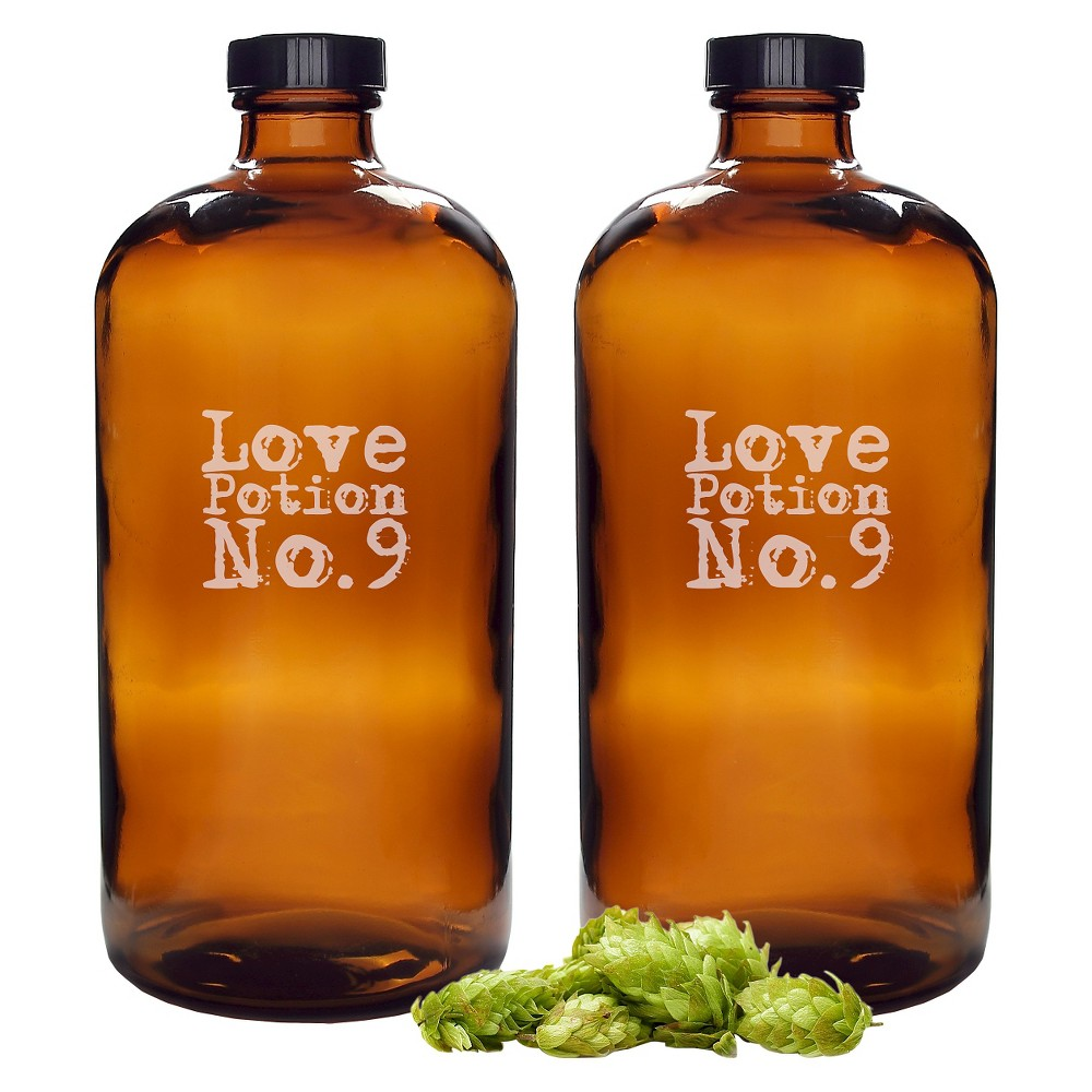 Halloween Love Potion No. 9 Growlettes - 2ct, Brown