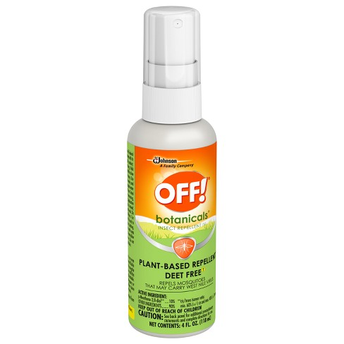 OFF! Botanicals Plant-Based Insect Repellent - 4 fl oz - image 1 of 4