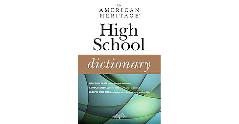 American Heritage High School Dictionary (Paperback) - image 1 of 1