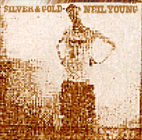 Neil young - Silver & gold (CD) - image 1 of 3