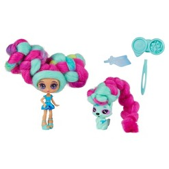 Candylocks Doll + Pet - Ocean Spray & Rickcoon