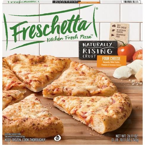 Freschetta Natural Rising Four Cheese Medley Frozen Pizza - 26.11oz - image 1 of 4