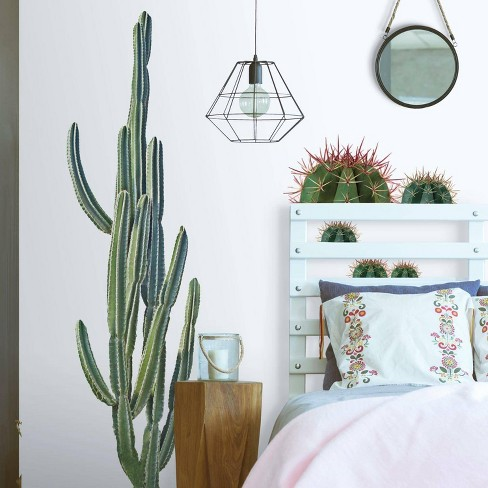 Giant Cactus Peel and Stick Wall Decal - RoomMates - image 1 of 4
