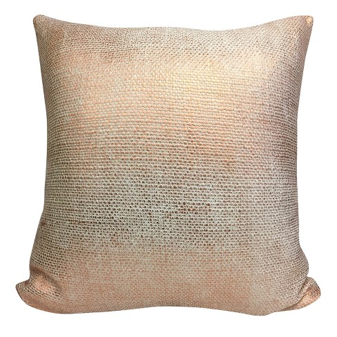 Copper Throw Pillow 20 X20 Homewear