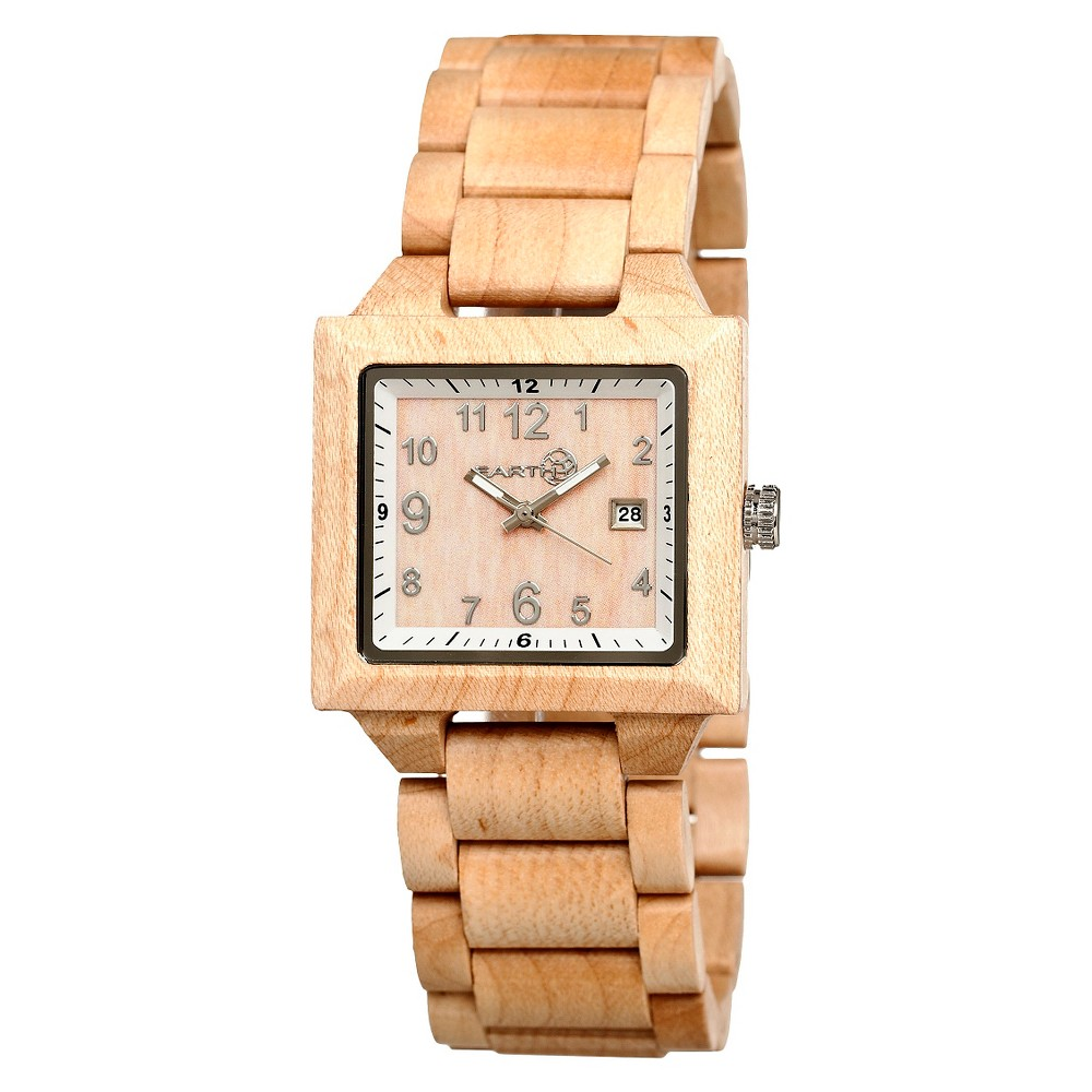 Men's Earth Wood Culm Watch with Luminous Hands - Light Brown