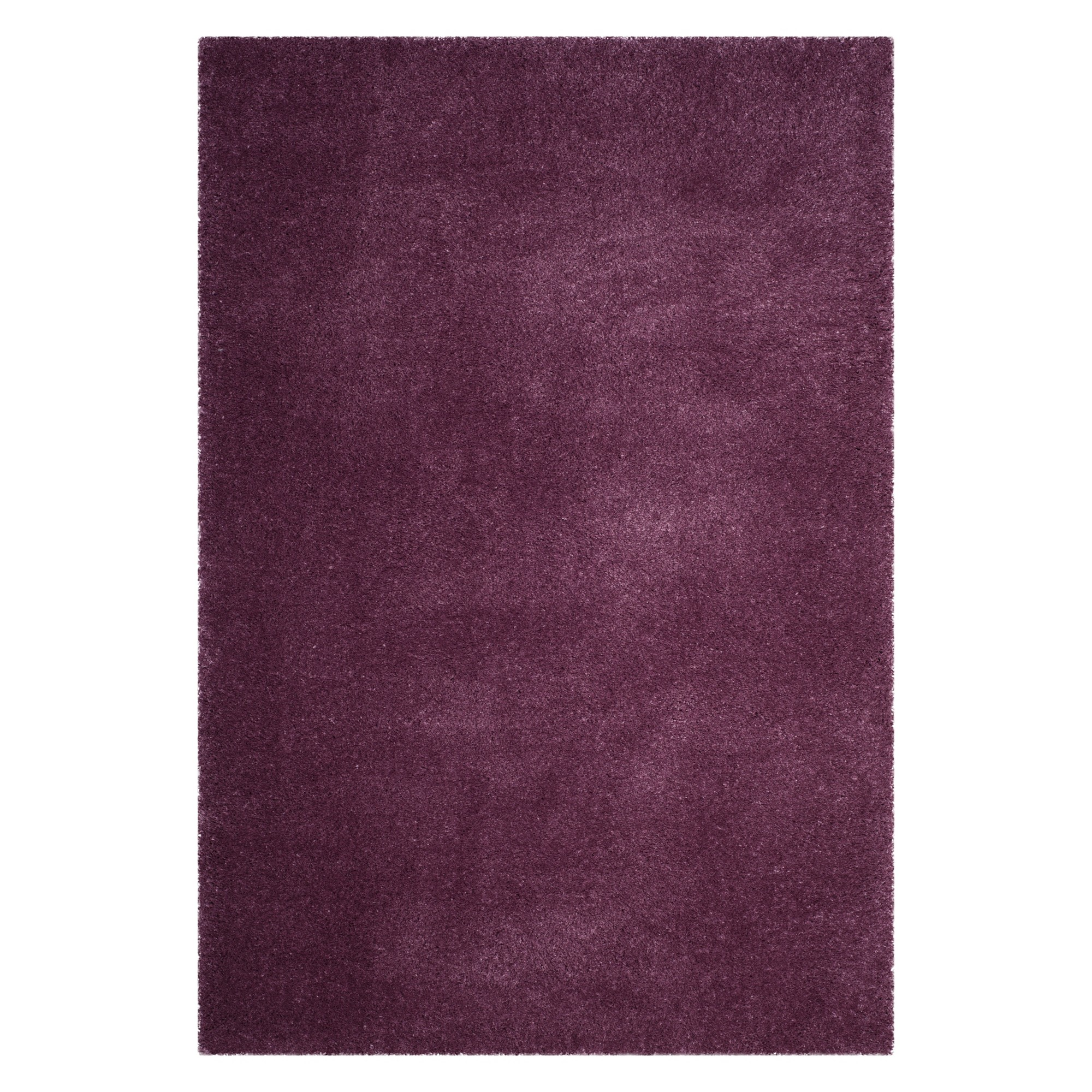 3'X5' Solid Loomed Accent Rug Purple - Safavieh