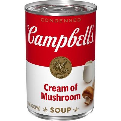 Campbell's Condensed Cream of Mushroom Soup - 10.5oz