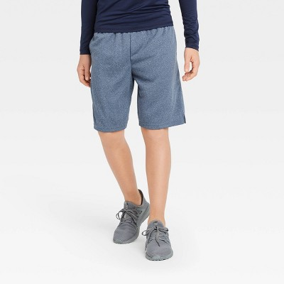 Boys' Gym Shorts - All in Motion™ Navy M
