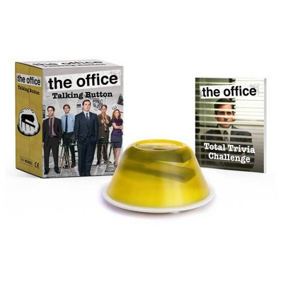 The Office: Talking Button - (Rp Minis)by Andrew Farago & Shaenon K Garrity (Paperback)