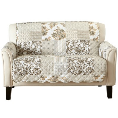 Great Bay Home Patchwork Loveseat Furniture Protector