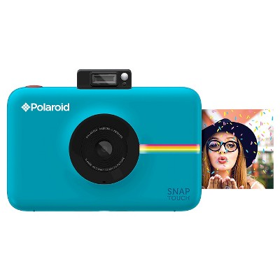 Polaroid Snap Touch Blue Instant Print Digital Camera with 3.5  Touchscreen Display