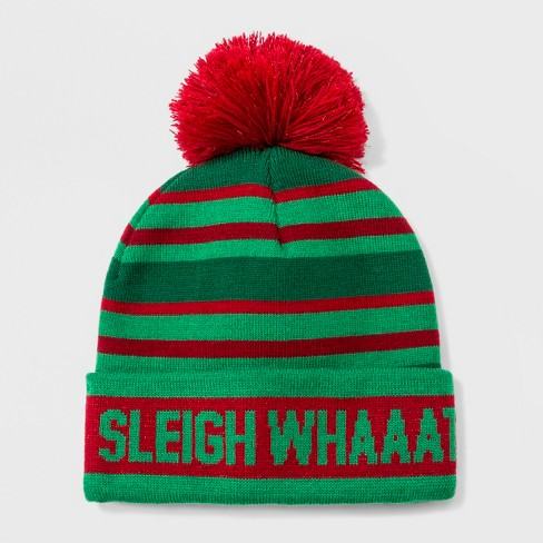 Women s Sleigh What Beanie - Red   Target 3cadf6be5d5f