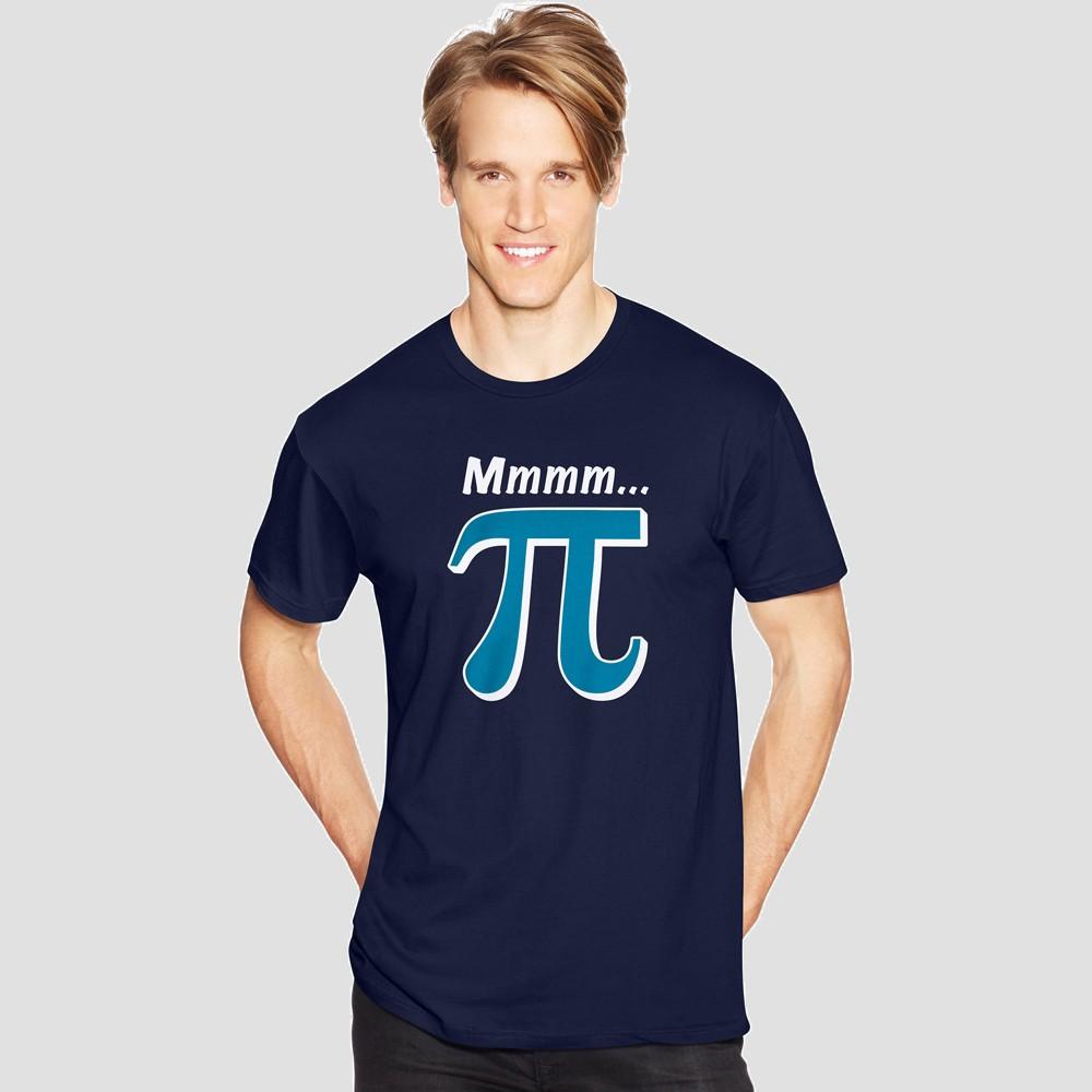 Hanes Men's Short Sleeve Graphic T-Shirt - Navy (Blue) 2XL