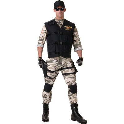 Adult Seal Team Halloween Costume S