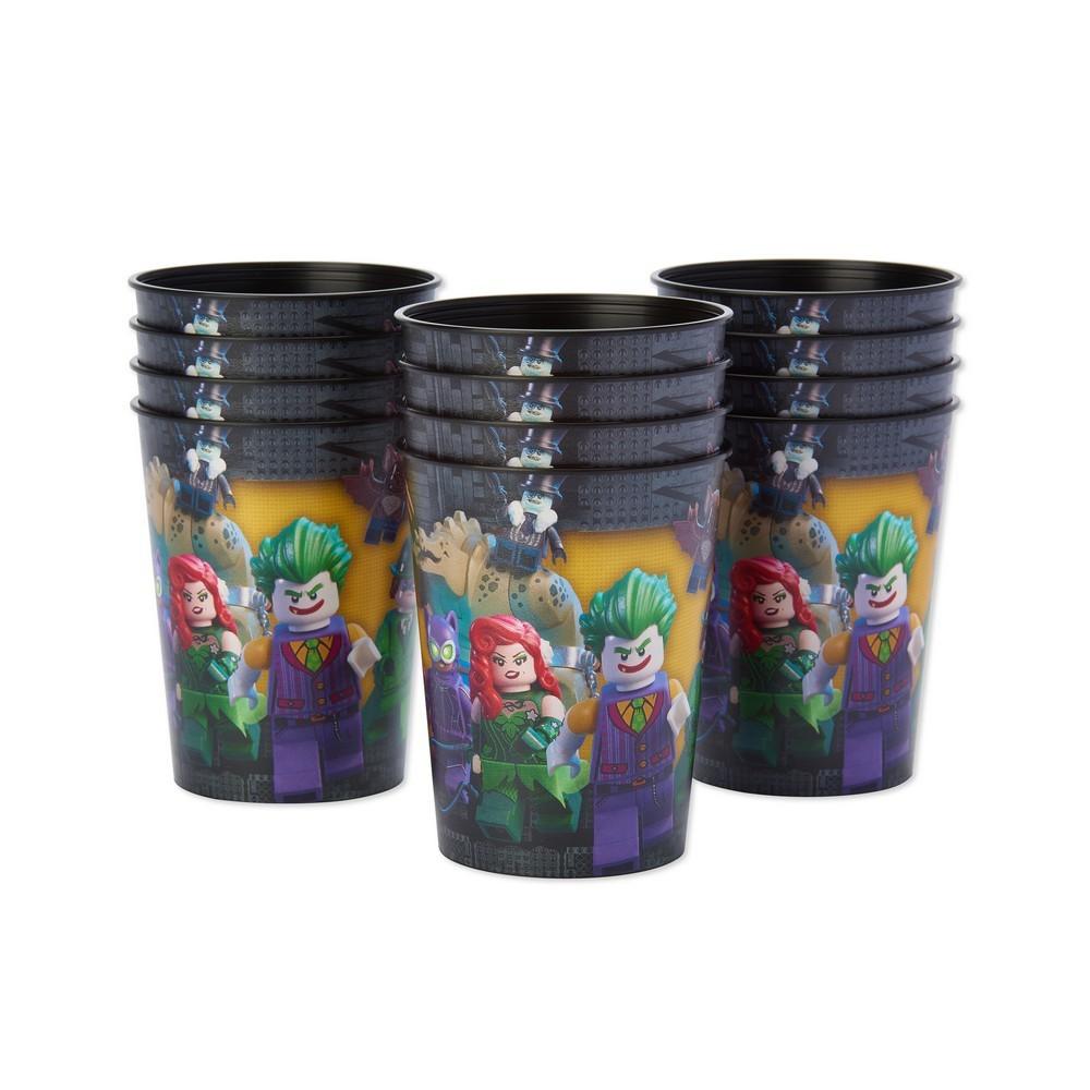 Image of 12ct Lego Batman Plastic Party Cups