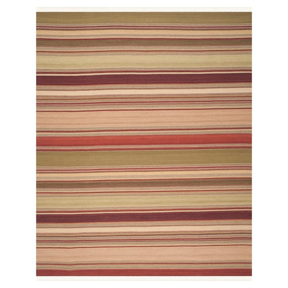 Striped Kilim Rug - Red - (8'x10') - Safavieh