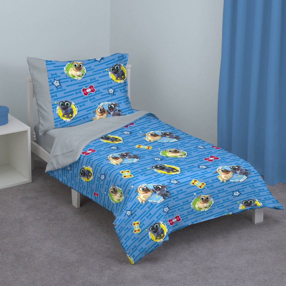 Image of NoJo 4pc Puppy Pals Toddler Bedding Set
