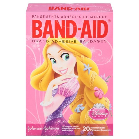 Band-Aid Disney Princess Bandages - 20ct - image 1 of 8