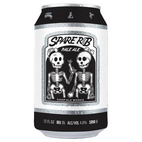 Coop Ale Works Spare Rib Pale Ale Beer - 6pk/12 fl oz Cans - image 1 of 1
