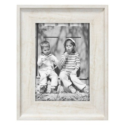 "5"" x 7"" Wood Tone Frame Ivory - Threshold™"