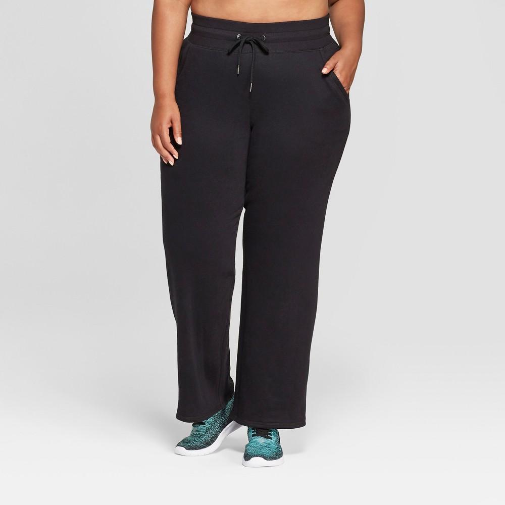 Women's Plus Size Authentic Fleece Sweatpants - C9 Champion Black 2X