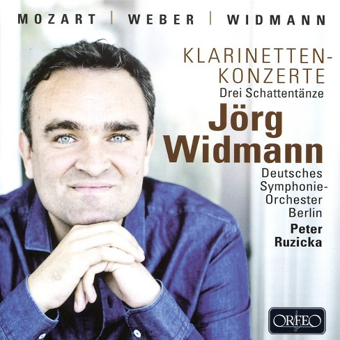 Jorg widmann - Concerto for clarinet (CD) - image 1 of 1