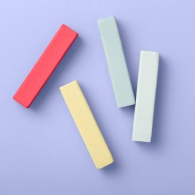 Hair Chalk Set - 4ct/0.6oz - More Than Magic™ Assorted