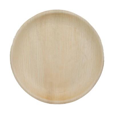 """10"""" 4pk Party Palm Leaf Paper Plates"""