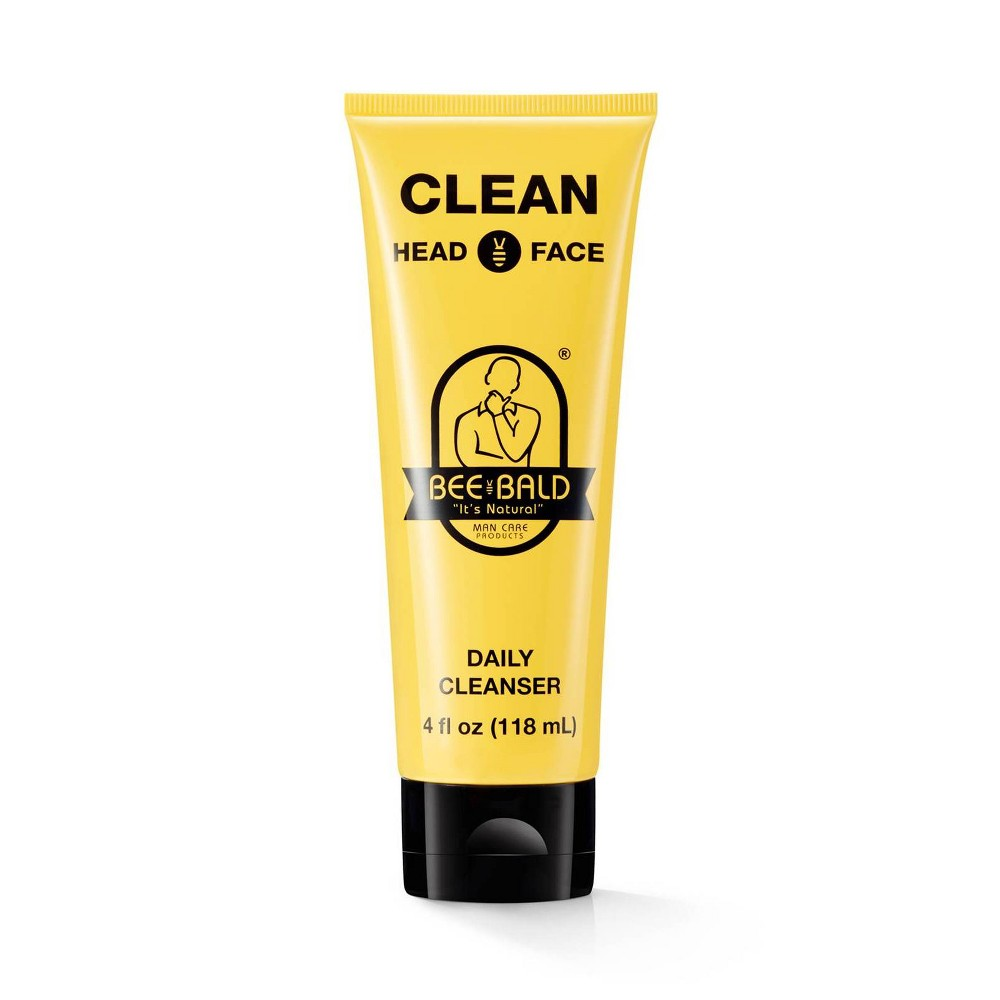 Image of Bee Bald Clean Head And Face Daily Cleanser - 4 fl oz