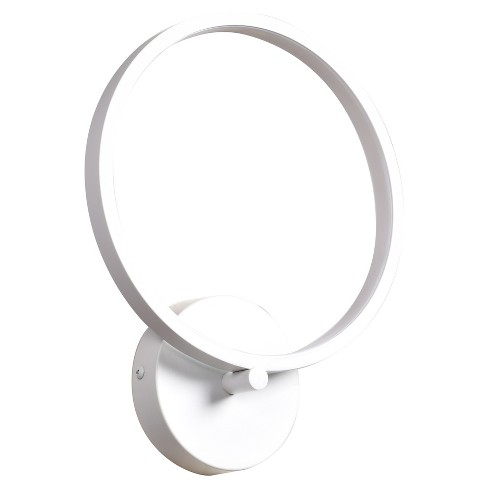 Eternal LED Circular Wall Fixture - White - Acrylic Lens Glass Shade - image 1 of 2
