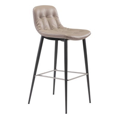 Set of 2 Luxe Tufted Barstools - ZM Home