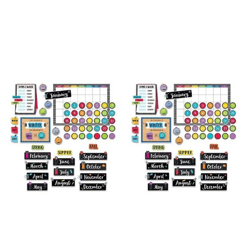 Creative Teaching BOLD BRIGHT CALENDAR SET 2STS CTP3998-2 - image 1 of 2