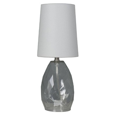 Accent Table Lamp with Glass Clear - Mastercraft Intl