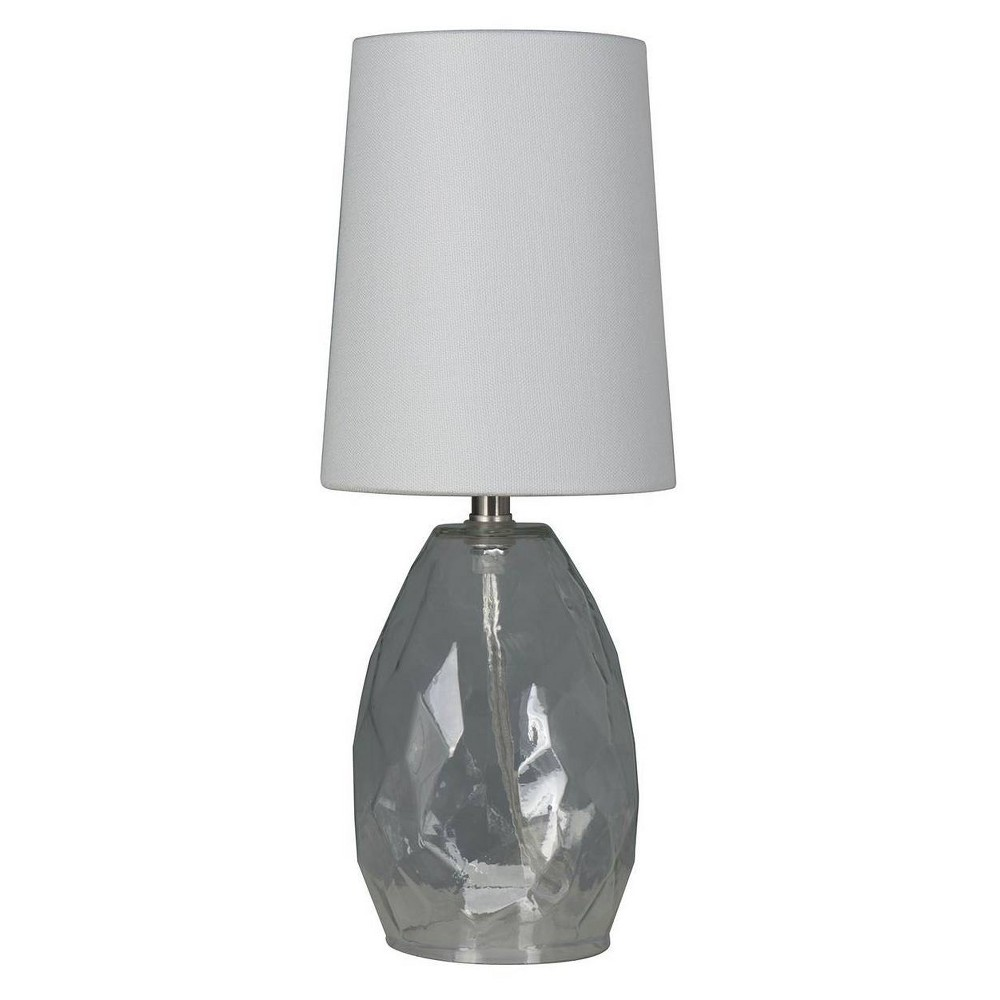 Accent Table Lamp with Glass Clear (Includes Energy Efficient Light Bulb) - Mastercraft International