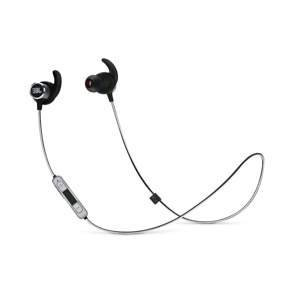 JBL Reflect Mini BT 2.0 Wireless In-Ear Headphones- Black (JBLREFMINI2BLK)