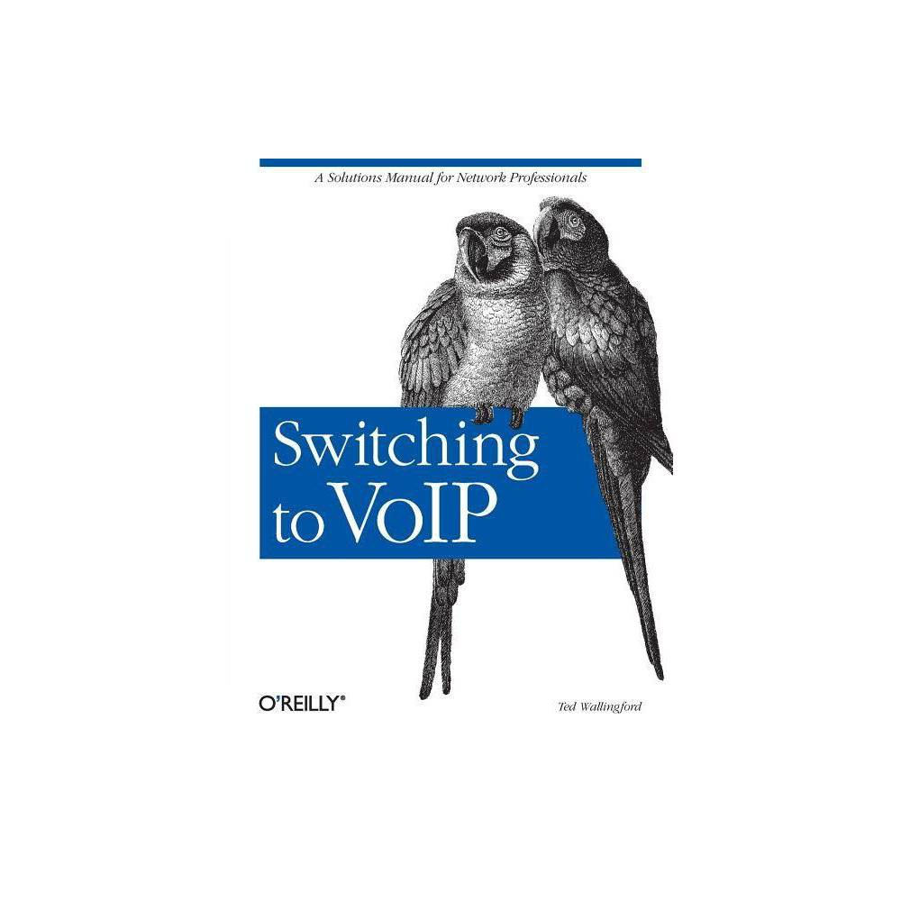 Switching to Voip - by Theodore Wallingford (Paperback) More and more businesses today have their receive phone service through Internet instead of local phone company lines. Many businesses are also using their internal local and wide-area network infrastructure to replace legacy enterprise telephone networks. This migration to a single network carrying voice and data is called convergence, and it's revolutionizing the world of telecommunications by slashing costs and empowering users. The technology of families driving this convergence is called VoIP, or Voice over IP. VoIP has advanced Internet-based telephony to a viable solution, piquing the interest of companies small and large. The primary reason for migrating to VoIP is cost, as it equalizes the costs of long distance calls, local calls, and e-mails to fractions of a penny per use. But the real enterprise turn-on is how VoIP empowersbusinesses to mold and customize teland datacom solutions using a single, cohesive networking platform. These business drivers are so compelling that legacy telephony is going the way of the dinosaur, yielding to Voice over IP as the dominant enterprise communications paradigm. Developed from real-world experience by a senior developer, O'Reilly's Switching to VoIP provides solutions for the most common VoIP migration challenges. So if you're a network professional who is migrating from a traditional telephony system to a modern, feature-rich network, this book is a must-have. You'lldiscover the strengths and weaknesses of circuit-switched and packet-switched networks, how VoIP systems impact network infrastructure, as well as solutions for common challenges involved with IP voice migrations. Among the challenges discussed and projects presented: building a softPBX configuring IP phones ensuring quality of service scalability standards-compliance topological considerations coordinating a complete system?switchover? migrating applications like voicemail and directoryservices retro