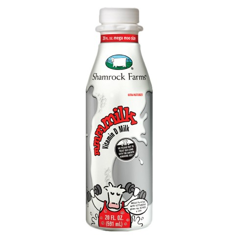 Shamrock Farms Vitamin D Milk - 20 fl oz - image 1 of 1