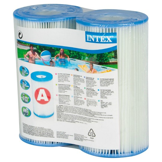 Intex A & C Pools Filter Cartridge - 2pc image number null