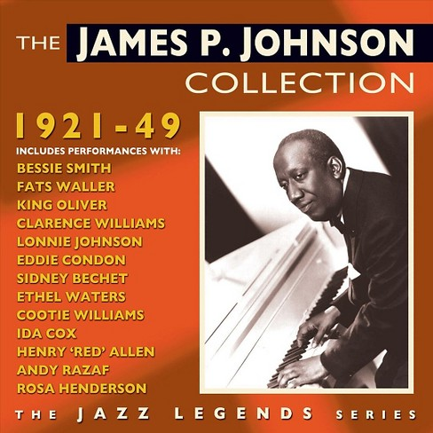 James p. johnson - James p johnson collection:1921-1949 (CD) - image 1 of 1