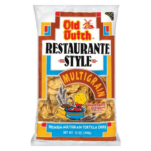 Old Dutch Restaurante Style Multigrain Premium Tortilla Chips - 12oz - image 1 of 1