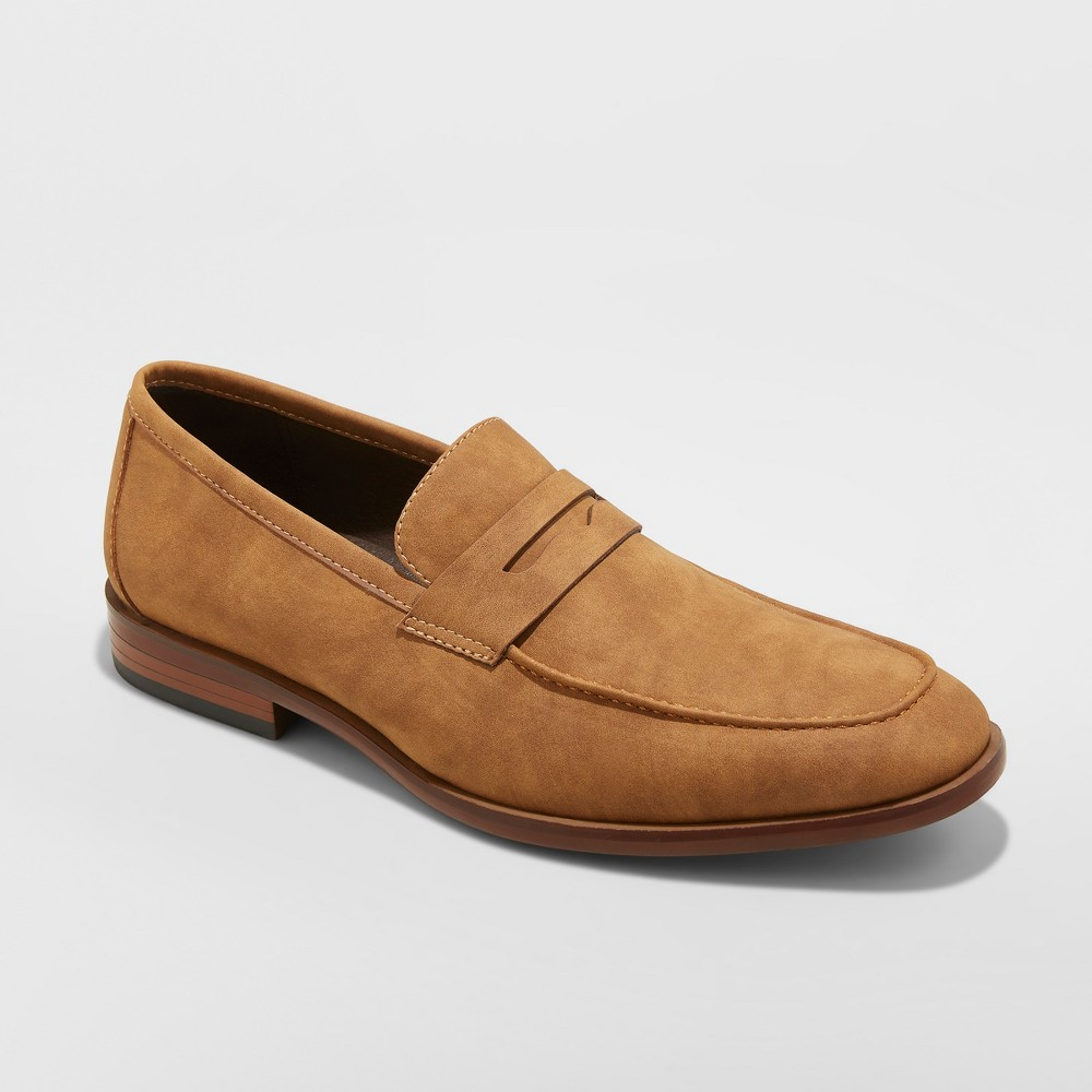 Men's Kayden Loafers - Goodfellow & Co Tan 10, Brown