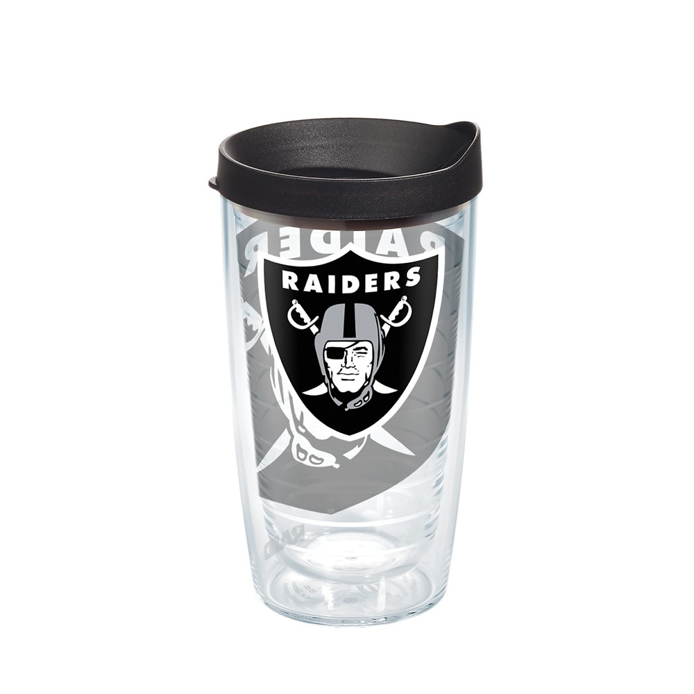 Tervis NFL Oakland Raiders Genuine 16oz Tumbler with lid