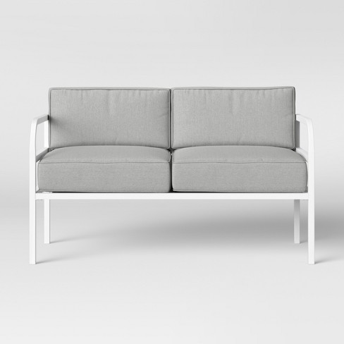 Beacon Hill Patio Loveseat Gray - Project 62™ - image 1 of 4