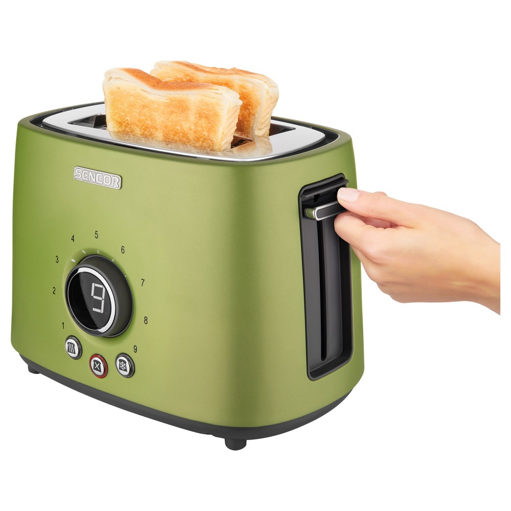Sencor Metallic 2 Slice Toaster – Lime (Green) 54279461