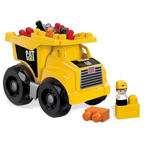 Mega Bloks Cat Large Dump Truck Target