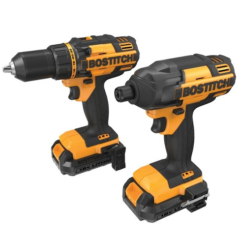 Bostitch 18V Drill/Impact Combo Kit - image 1 of 2