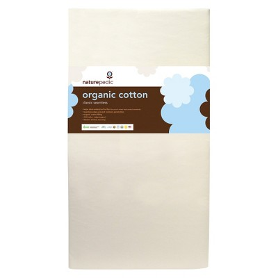 Naturepedic No - Compromise Organic Cotton Classic 150 Crib mattress - Seamless