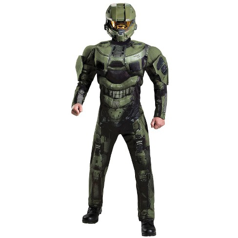 Halo 3 Deluxe Master Chief Adult Costume X-Large - image 1 of 1