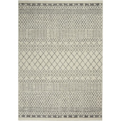 Nourison Passion PSN42 Ivory/Grey Area Rug